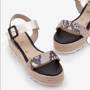 Boden Lena Platform Sandals, size 7.5 (UK 38)